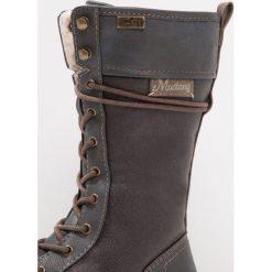 Mustang Śniegowce graphit. Szare buty zimowe damskie marki Mustang, z materiału. W wyprzedaży za 164,45 zł.