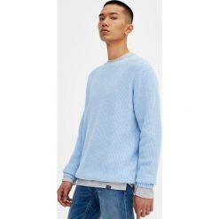 Swetry męskie: Sweter wykonany angielskim ściegiem