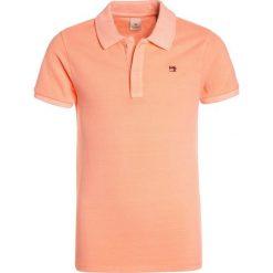 Scotch Shrunk GARMENT DYED  Koszulka polo neon peach. Niebieskie bluzki dziewczęce bawełniane marki Scotch Shrunk. Za 129,00 zł.