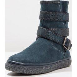 Lurchi GLORI TEX Śniegowce dark petrol. Czarne buty zimowe damskie marki Lurchi, z materiału. W wyprzedaży za 186,45 zł.