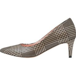 L37 PERFECT DAY Czółenka gold/black. Czarne buty ślubne damskie marki L37, z materiału, retro. Za 519,00 zł.
