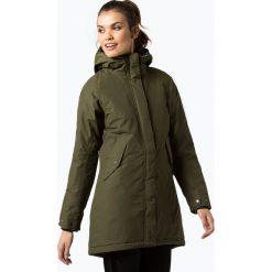 Didriksons - Damski płaszcz funkcyjny – Catja, zielony. Zielone płaszcze damskie Didriksons. Za 899,95 zł.