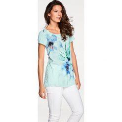 T-shirty damskie: Koszulka w kolorze miętowym
