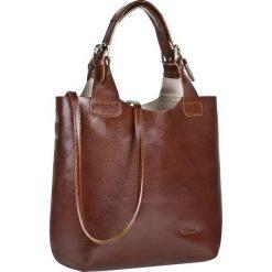 Torebka CREOLE - RBI117  Średni Brąz. Brązowe torebki klasyczne damskie Creole, ze skóry. W wyprzedaży za 259,00 zł.