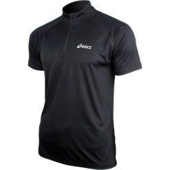 Asics Koszulka Zip Top czarna r. XL (110409 0904). Czarne koszulki sportowe męskie Asics, m. Za 57,00 zł.