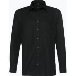 Eterna Comfort Fit - Koszula męska niewymagająca prasowania, czarny. Czarne koszule męskie non-iron Eterna Comfort Fit, m, z bawełny, z długim rękawem. Za 199,95 zł.