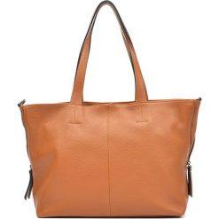 Torebka w kolorze koniaku - (S)46 x (W)28 x (G)11 cm. Brązowe torebki klasyczne damskie Bestsellers bags, w paski, z materiału. W wyprzedaży za 289,95 zł.