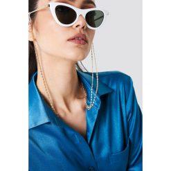 Łańcuszki damskie: NA-KD Classic Podwójny łańcuszek do okularów - Gold