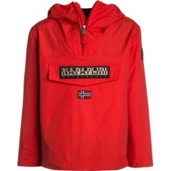 Napapijri RAINFOREST  Kurtka Outdoor bright red. Niebieskie kurtki chłopięce marki Napapijri, z bawełny. Za 549,00 zł.