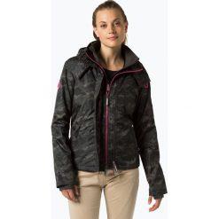 Superdry - Kurtka damska, beżowy. Szare kurtki damskie marki Superdry, l, z nadrukiem, z bawełny, z okrągłym kołnierzem. Za 349,95 zł.