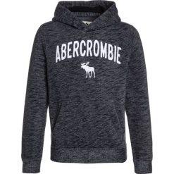 Abercrombie & Fitch LOGO CORE  Bluza z kapturem navy. Niebieskie bluzy chłopięce rozpinane marki Abercrombie & Fitch. W wyprzedaży za 152,10 zł.