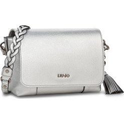 Torebka LIU JO - S Cross Body Arizona A18045 E0086 Silver 00532. Szare torebki klasyczne damskie Liu Jo. Za 499,00 zł.
