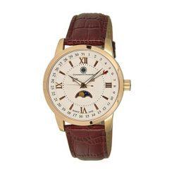 """Zegarki męskie: Zegarek """"CDCALEQZLTRGRGWH"""" w kolorze brązowo-złotym"""