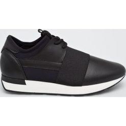 Pollini - Buty. Czarne buty sportowe damskie Pollini, z gumy. Za 799,90 zł.