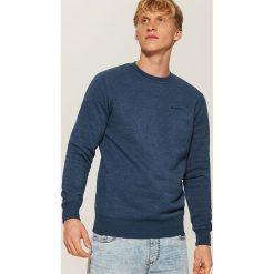 Gładka bluza - Granatowy. Niebieskie bluzy męskie House, l. Za 59,99 zł.