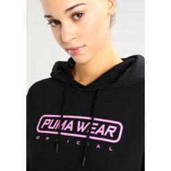 Bluzy damskie: Puma LONG HOODIE Bluza z kapturem black