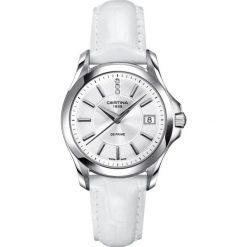 RABAT ZEGAREK CERTINA DS PRIME C004.210.16.036.00. Białe zegarki damskie CERTINA, ze stali. W wyprzedaży za 1254,00 zł.