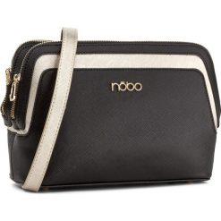 Torebka NOBO - NBAG-D3090-C020 Czarny. Czarne listonoszki damskie Nobo, ze skóry ekologicznej. W wyprzedaży za 129,00 zł.