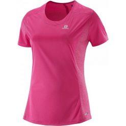 Salomon Koszulka Sportowa Damska Agile Ss Tee W Hot Pink Xs. Szare topy sportowe damskie marki Asics. W wyprzedaży za 99,00 zł.