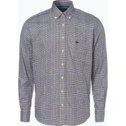 Fynch Hatton - Koszula męska, niebieski. Niebieskie koszule męskie w kratę Fynch-Hatton, l, z bawełny, z klasycznym kołnierzykiem. Za 169,95 zł.