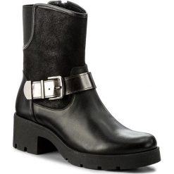 Botki SERGIO BARDI - Belpasso FW127260717RB 101. Czarne buty zimowe damskie Sergio Bardi, z materiału, na obcasie. W wyprzedaży za 249,00 zł.