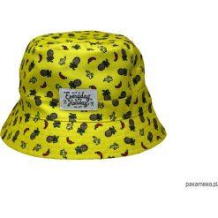 """Kapelusz Dwustronny """"OWOCE"""". Czarne kapelusze damskie Pakamera, klasyczne. Za 120,00 zł."""