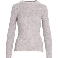 Khaki Sweter Reasonableness. Brązowe swetry klasyczne damskie Born2be, xl, prążkowane, ze stójką. Za 34,99 zł.