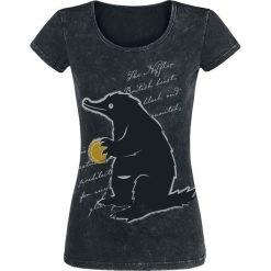 Fantastic Beasts Grindelwalds Verbrechen - Niffler Koszulka damska czarny. Czarne bluzki z egzotycznym wzorem Fantastic Beasts, xl, retro, z okrągłym kołnierzem. Za 79,90 zł.