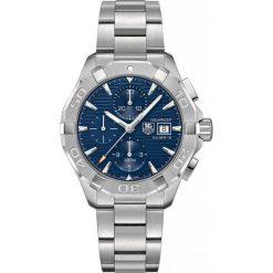 ZEGAREK TAG HEUER AQUARACER CAY2112.BA0927. Niebieskie zegarki męskie TAG HEUER, szklane. Za 13180,00 zł.