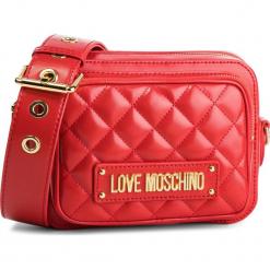 Torebka LOVE MOSCHINO - JC4004PP17LA0500  Rosso. Czerwone listonoszki damskie marki Love Moschino, ze skóry ekologicznej. Za 719,00 zł.