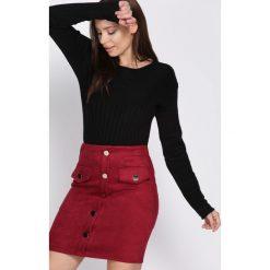 Czarny Sweter All Clear. Czarne swetry klasyczne damskie marki Born2be, na jesień, l. Za 59,99 zł.