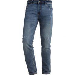 Spodnie męskie: Springfield CLARO Jeans Skinny Fit blues