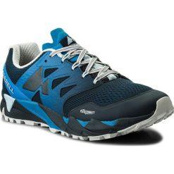 Buty MERRELL - Agility Peak Flex 2 E-Mesh J12505 Bleu. Niebieskie buty sportowe męskie Merrell, z materiału, do biegania. W wyprzedaży za 259,00 zł.