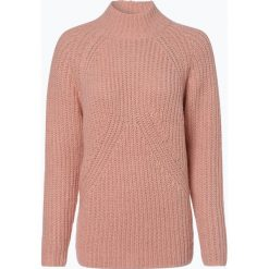 Talk about - Sweter damski z dodatkiem moheru, różowy. Czerwone swetry klasyczne damskie talk about, z włókna. Za 379,95 zł.