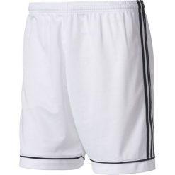 Spodenki sportowe męskie: Adidas Spodenki piłkarskie męskie Squadra 13 biało-czarne r. XXL (BJ9227)