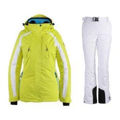 Kurtki damskie narciarskie: KILLTEC Kombinezon damski Anine limonkowo-biały r.38 (2487838)