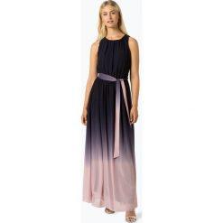 Apart - Damska sukienka wieczorowa, niebieski. Niebieskie sukienki koktajlowe Apart, na imprezę, w gradientowe wzory. Za 599,95 zł.