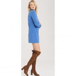Niebieska Sukienka That's Good For Me. Niebieskie sukienki mini other, l. Za 64,99 zł.