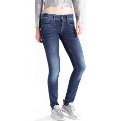 GStar LYNN MID SKINNY Jeans Skinny Fit loomer blue. Niebieskie boyfriendy damskie G-Star. W wyprzedaży za 439,20 zł.