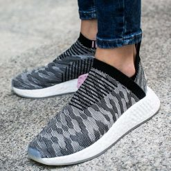 """Buty adidas NMD CS2 Primeknit Women """"Core Black/Wonder Pink"""" (BY9312). Czarne buty sportowe damskie adidas nmd marki Adidas, z kauczuku. Za 291,99 zł."""
