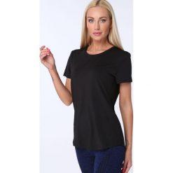 T-shirt luźny fason czarny MR16618. Czarne t-shirty damskie Fasardi, m. Za 39,00 zł.