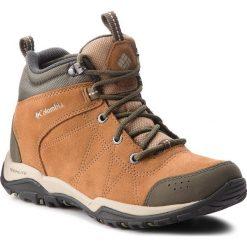 Trekkingi COLUMBIA - Fire Venture Mid Suede Waterproof BL1717 Elk/Ancient Fossil 286. Brązowe buty trekkingowe damskie Columbia. W wyprzedaży za 349,00 zł.