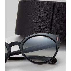 Prada Okulary przeciwsłoneczne grey mirror silvercoloured. Szare okulary przeciwsłoneczne damskie lenonki marki Prada. Za 769,00 zł.