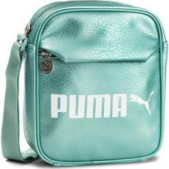 Saszetka PUMA - Campus Portable 075004 02 Aquifer/Metallic. Zielone listonoszki damskie Puma. Za 99,00 zł.