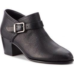 Półbuty CLARKS - Maypearl Milla 261361504 Black Leather. Czarne półbuty damskie skórzane Clarks, eleganckie, na obcasie. W wyprzedaży za 349,00 zł.
