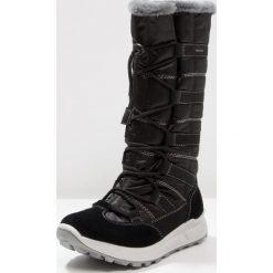 Superfit MERIDA Śniegowce schwarz. Czarne buty zimowe damskie marki Superfit, z materiału. W wyprzedaży za 367,20 zł.