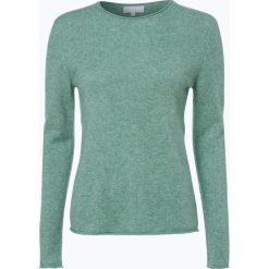Marie Lund - Sweter damski z czystego kaszmiru, niebieski. Niebieskie swetry klasyczne damskie Marie Lund, s, z kaszmiru. Za 449,95 zł.