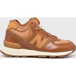 New Balance - Buty. Brązowe buty sportowe damskie New Balance, z materiału. Za 449,90 zł.