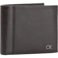 Portfele męskie: Duży Portfel Męski CALVIN KLEIN BLACK LABEL – Nathan 10Cc + Coin + Pass K50K503142 001