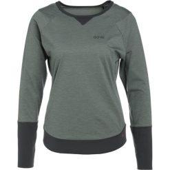 Gore Wear TRAIL Bluzka z długim rękawem castor grey/terra grey. Szare topy sportowe damskie Gore Wear, z elastanu, z długim rękawem. W wyprzedaży za 356,15 zł.